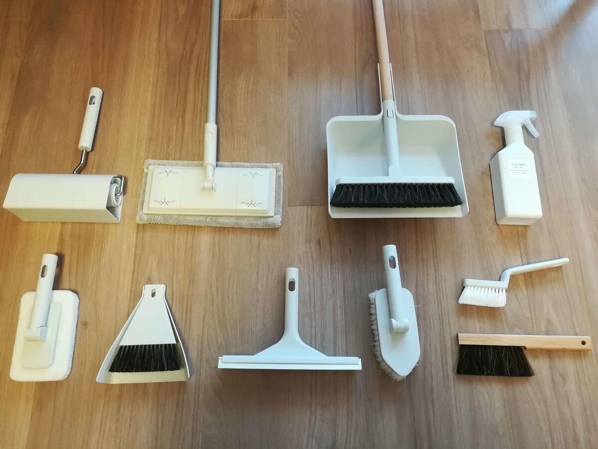 無印良品の掃除用品システムで大掃除知らずな毎日を!【使い方紹介有り】